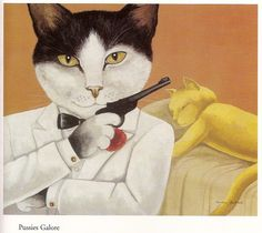 ana_lee: Movie Cats by Susan Herbert