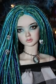 #Goth doll with dreads by Rosy Sepia