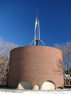 MIT Chapel. 1955. Cambridge Massachusetts. Eero Saarinen