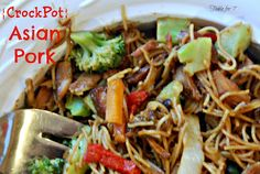 {Crock Pot} Asian Pork from Table for 7