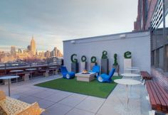 Google's Rooftop NYC