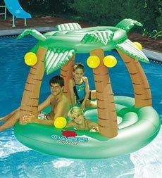 Swimline® Oasis Island Inflatable Pool Lounger