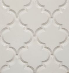 Beveled Arabesque Tile eclectic kitchen tile