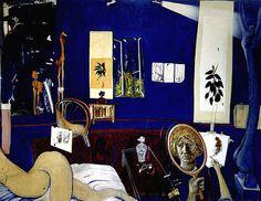 Brett Whiteley, Self Portrait in Studio, 1976
