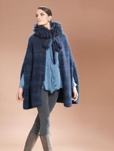 Free cape Knit pattern