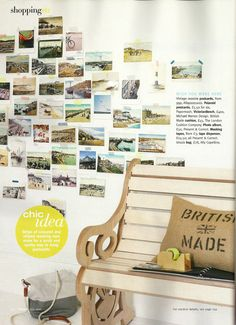 with words & tape #postcards #diy #walls