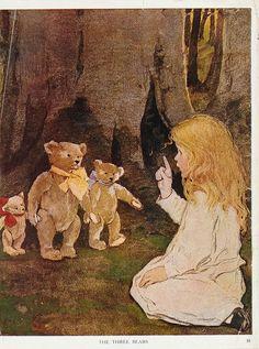 """""""The Now-A-Days Fairy Book"""" (1922) by Jessie Willcox Smith."""