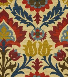 Home Decor Print Fabric- Waverly Santa Maria Gem : home decor print fabric : home decor fabric : fabric :  Shop | Joann.com