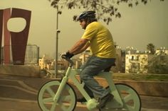 Cardboard Bicycle (001) - Izhar Gafni