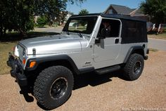 Our 2004 Jeep Wrangl