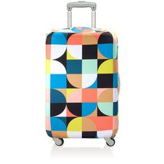 Luggage Cover Echo Circles