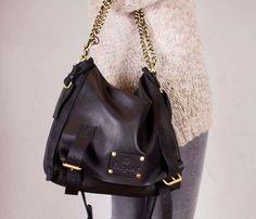 Black Sleazy Jane Bag