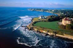 Newport, RI. The Breakers Mansion and the Cliff Walk. So.... Beautiful!!