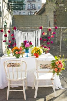 Mexican inspired wedding // photo by Martina Micko