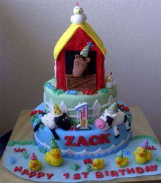 Farm Animals cake animal cakes, farm anim, anim cake
