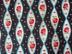 1950's Roses and Dots | Flickr - Photo Sharing!