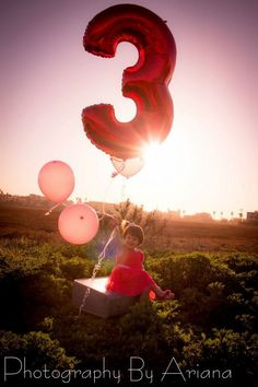 Kids toddlers... Photography By Ariana 619-947-0668 #photo # balloons #kids # outdoors #pink #little girl