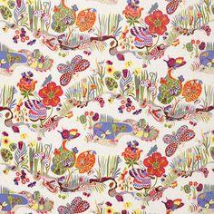 Textile Butterfly 100 Linen | Svenskt Tenn