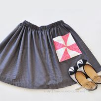 Quilt Block Skirt Pocket Tutorial