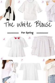 The white blouse ref