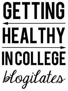 Getting Healthy in College: Blogilates (and a freebie) - The Sticky Note Addict