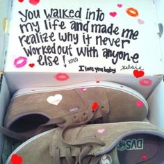 Luvd Up Sneakers | DIY Valentine Gifts for Husband | Boyfriend