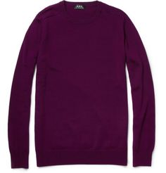 A.P.C. Knitted Wool Sweater | MR PORTER