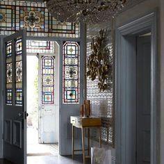 Extravagant entryway