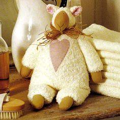 Тильдовская игрушка овечка. Как сшить игрушку Тильда? Выкройки тильдовских игрушек. MUCHOS PATRONES TILDA
