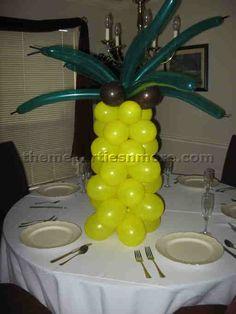 Art Hawaiin party-theme