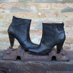 Perfect for Fall   Black Frye Black Ankle boots     @marshalls  #projectfab #fabfound