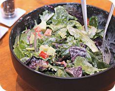 Mixed Greens with Creamy Dijon Vinaigrette by kae71463, via Flickr