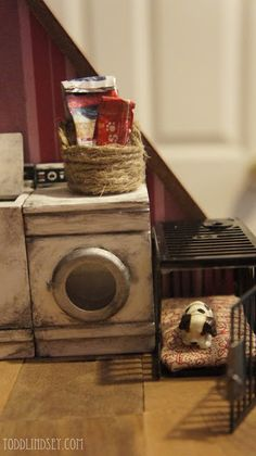 Super easy DIY ideas for dollhouse accessories!