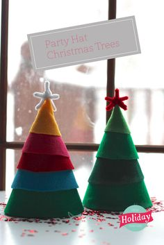 Christmas Tree Party Hats | Pars Caeli