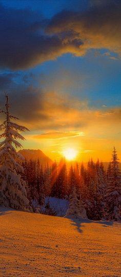 Mt. Rainier sunset in Washington • photo: Kevin McNeal on Wordpress