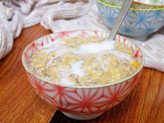 The Oatmeal Artist: Banana Mango Overnight Oatmeal