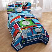Thomas the Train Right on Time Bedding Comforter