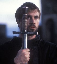 Mel Gibson as Hamlet from the Shakespeare play