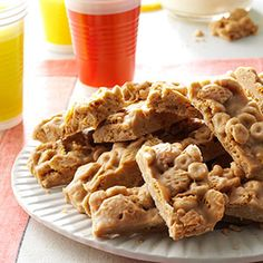 No-Bake Cereal Bars Recipe