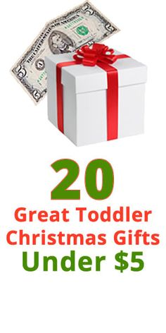20 Great Christmas Gifts for Kids Under $5 That Never Go Out of Style #gifts #christmas
