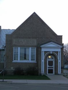 A. H. Brown Public Library  Mobridge, SD 605-848-2808