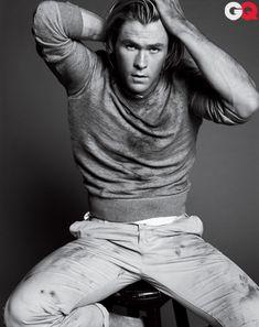 awesom celebr, chris hemsworth, sexi, hot guy, hotti, beauti, men, husband, boy