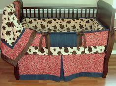 Giddy Up Cowboy Baby Bedding