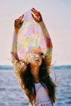 Image Via: La Boheme messy hair, geometric shapes, wild hair, sea breeze, long hair, photography women, inspir, summer essentials, photographi