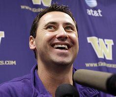 Steve Sarkisian (Coach UW Huskies Football)