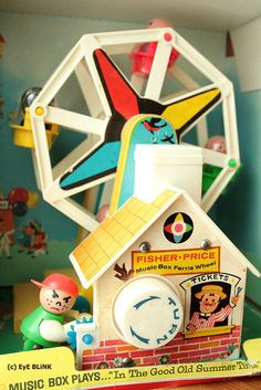 Fisher Price ferris wheel