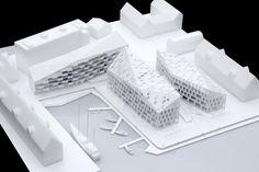 Architectural Model - COBE - Krøyers Plads