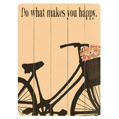 What Makes You Happy Wall Art