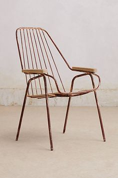 Pyrenean Lounge Chair #anthropologie