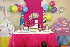 Candy Land Candy Buffet